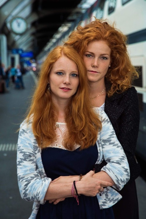 "Patricia and Rebecca, from Switzerland, are sisters. There's only one-year difference between them. ""When we were small, most of the kids laughed at our red hair. But that brought us closer to each other."" Years have passed and I noticed them in..."