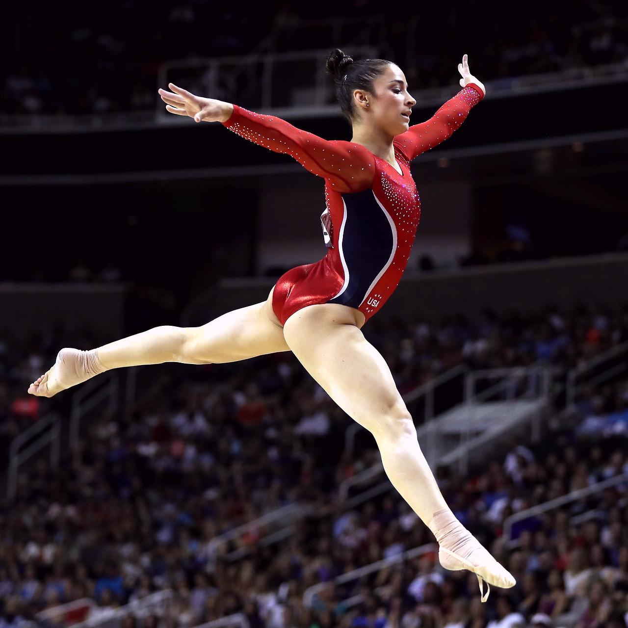 Yelena Shushunova 2x Olympic champion (all-around, team)