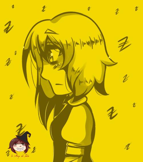 Asparagina, la durmiente desvelada. Asparagina lo único que quiere son sueños silenciosos, tranquilos, sin monstruos ni jaulas.