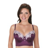 Danielle Longline Bra. Side boning and power mesh wings for added support, Back adjustable..., July 24, 2017 at 04:57PM