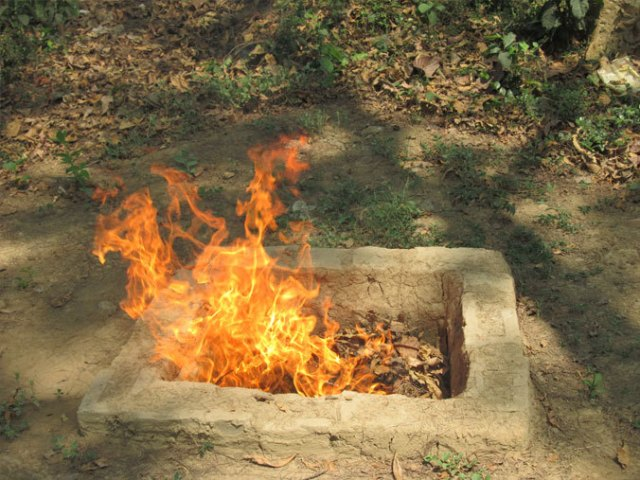 Bhasma: the Bath of Fire