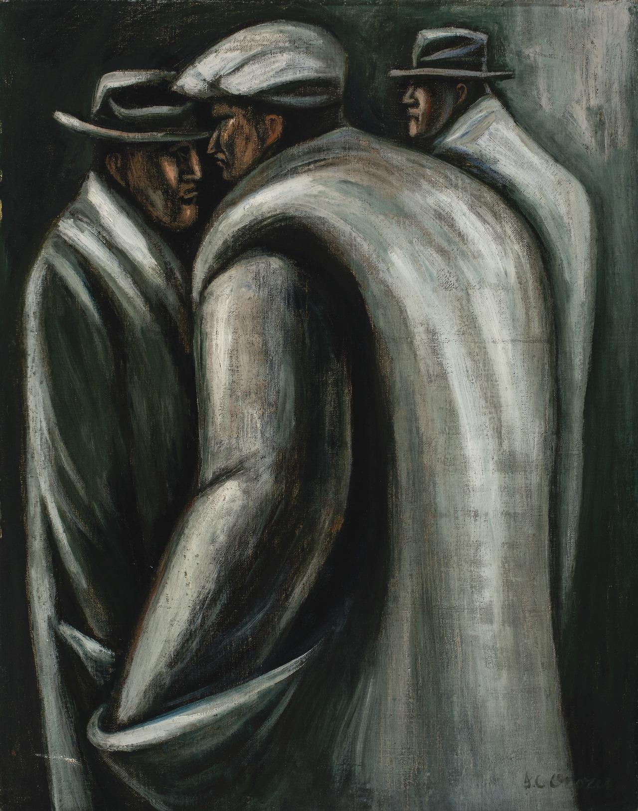 """peira: """"José Clemente Orozco: Los Desempleados (c.1929) """""""
