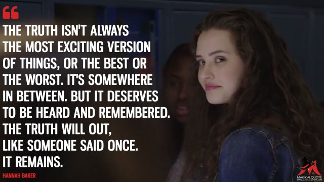 13 Reasons To Watch 13 Reasons Why