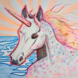 Wild Unicorns couldn't drag me away. #drawing #pencildrawing #drawdrawdraw #illustration #journal #perthcreatives #perthartist #inkpen #unicorn #doodles #sketch #portrait #sketching #artsy #art #horses #fantasy #rollingstones #wildhorses #animalsinart