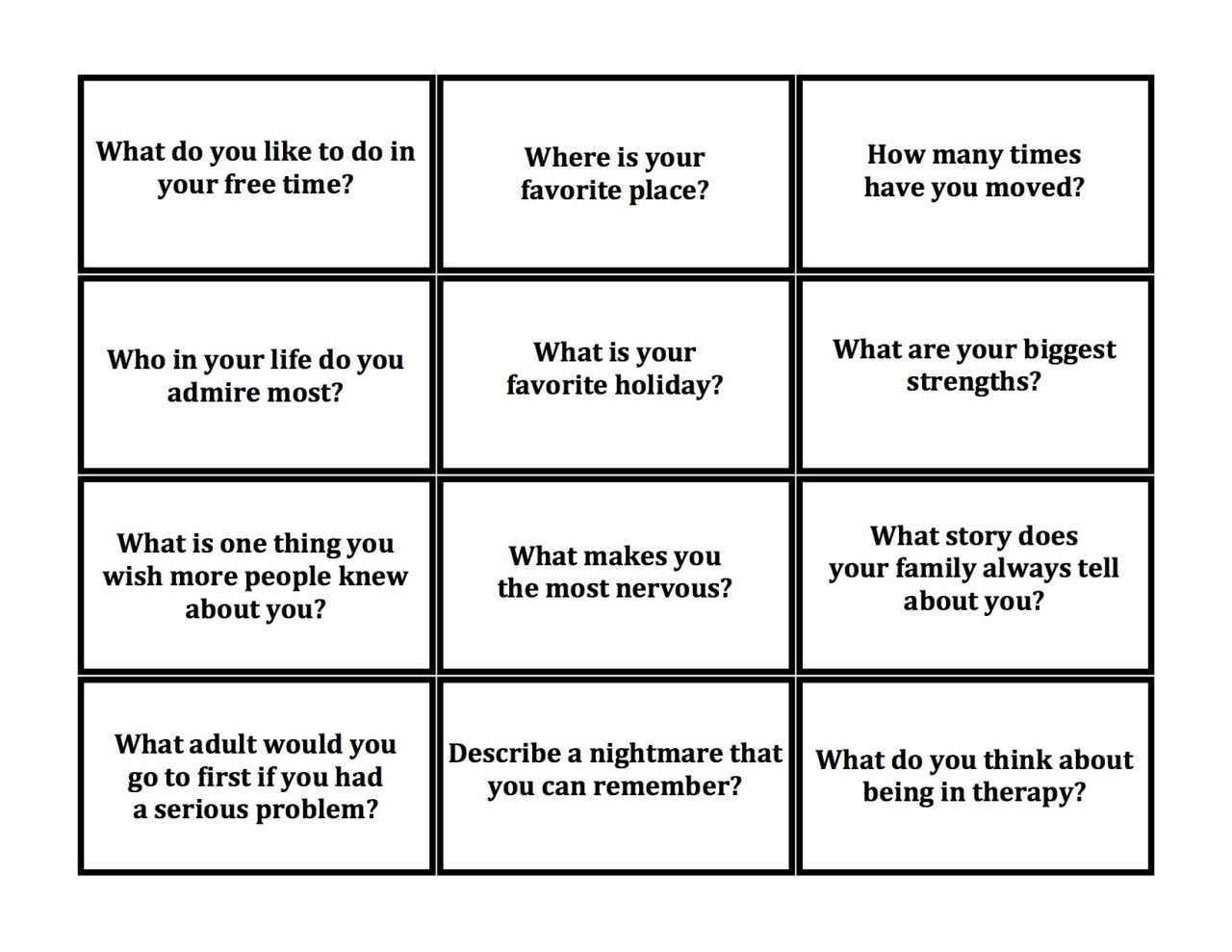 The Utic Jenga These Questions Spark A Lot Of