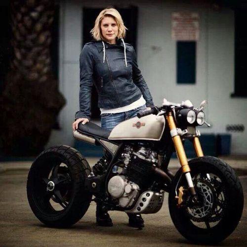 Motorcycle Girl On Tumblr