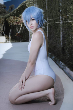 Rei Ayanami Haki cosplay evangelion by NATAZAPAT  More Hot Cosplay: http://hotcosplaychicks.tumblr.com Get Exclusive Content: https://www.patreon.com/hotcosplaychicks