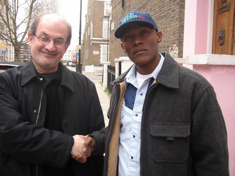 Canibus and Salman Rushdie