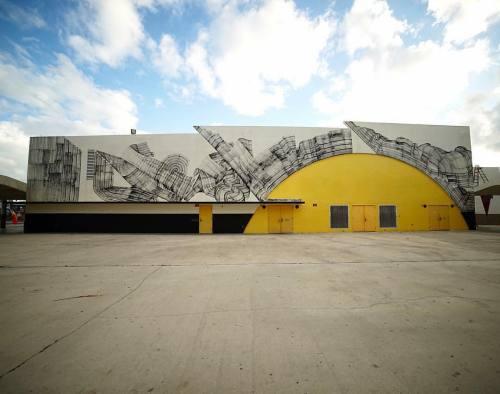 thcrstlshp:  'Vivid Dream' by @never2501 in Miami for @therawproject_ #streetart #vividdream #abstract #art #mural #never2501 #therawproject #miami https://www.instagram.com/p/BNr1c2eDfo_/