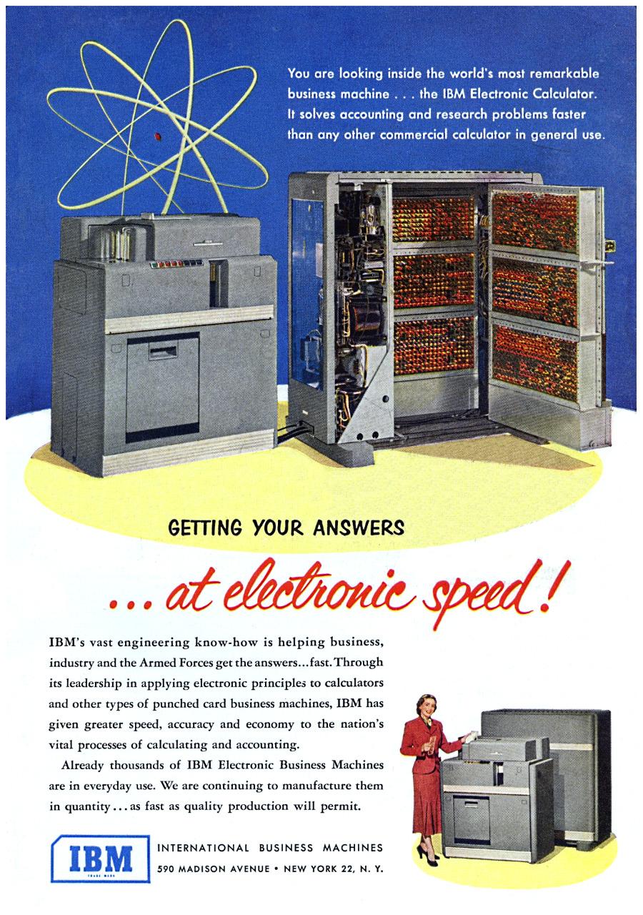 IBM Electronic Calculator - 1951