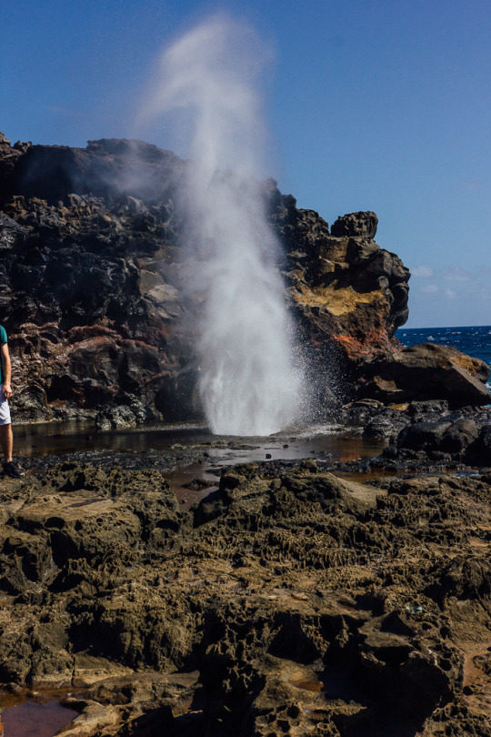 Nakalele blowhole in Maui, Maui itinerary, what to do in Maui, top things to do in Maui, Maui sightseeing