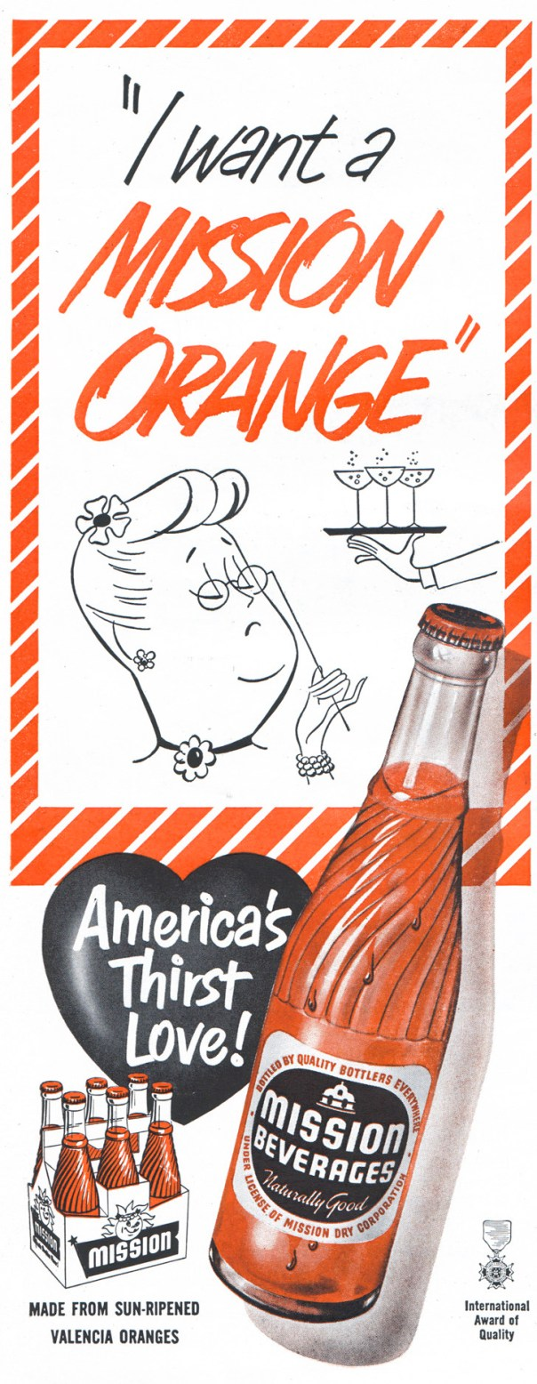 Mission Beverages - 1953