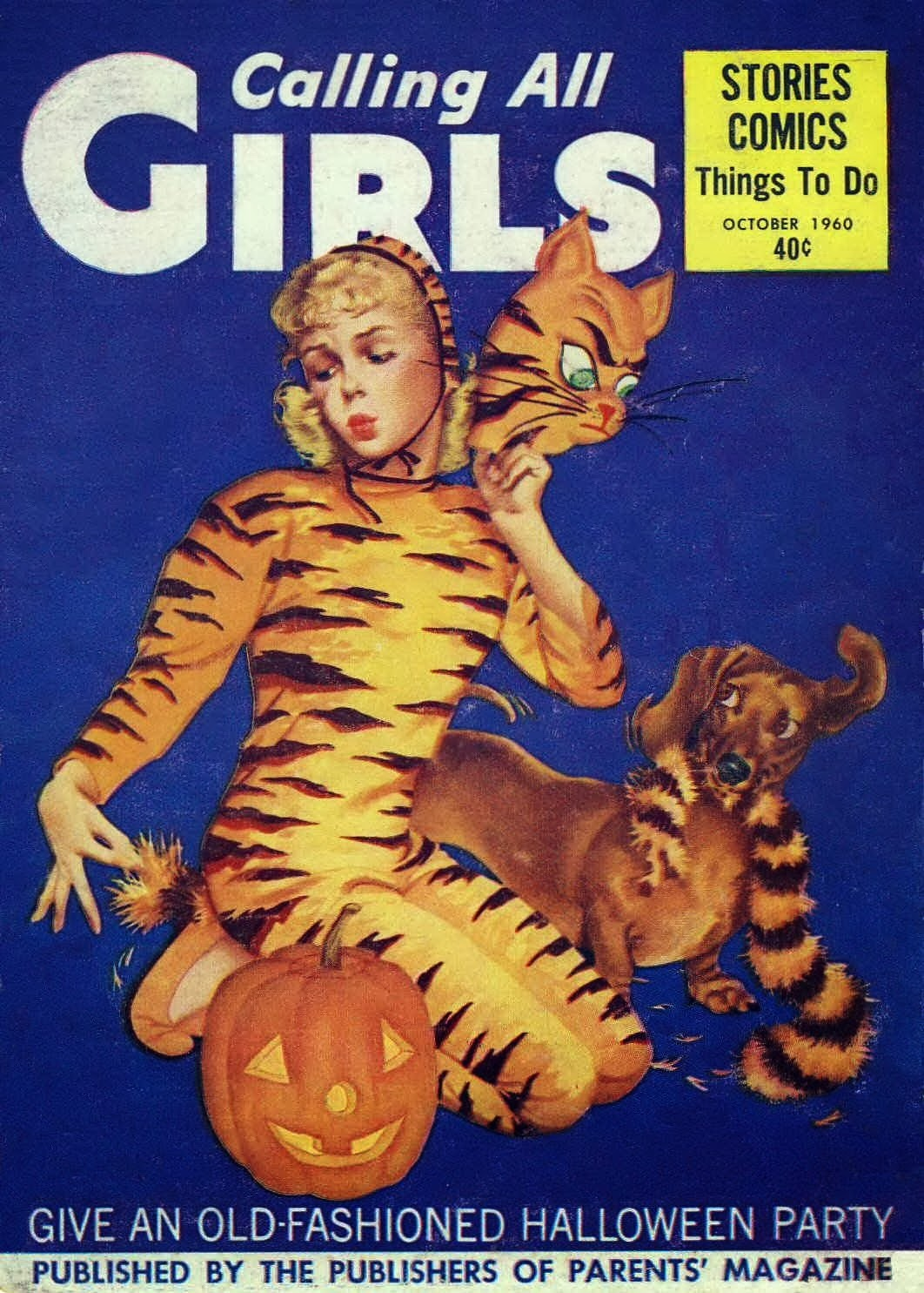 Calling all Girls - published October 1960