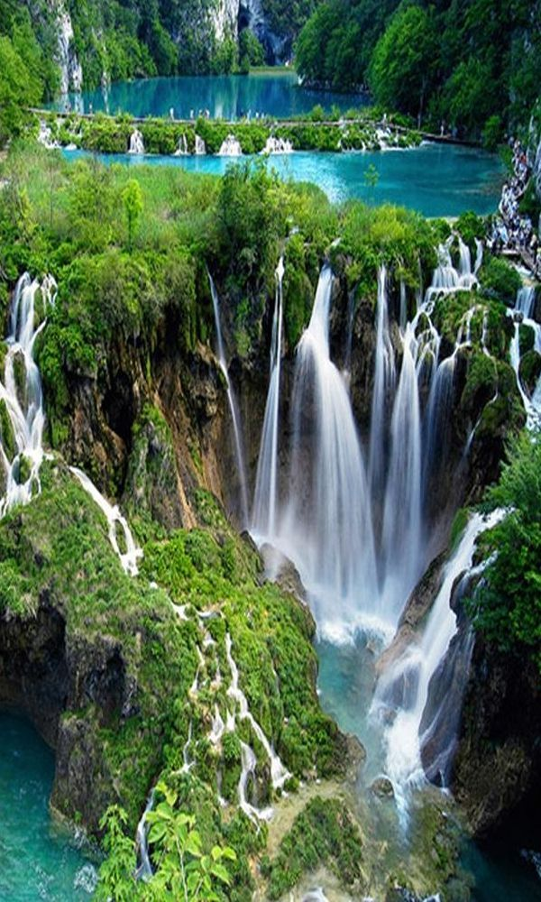 Plitvice Lakes Natio nature love