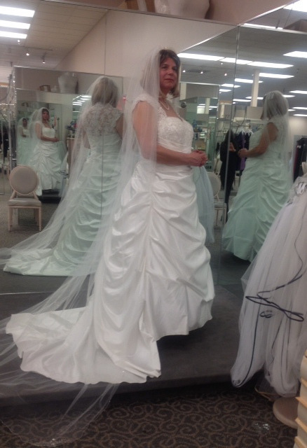 Another Beautiful Bridal Crossdresser Is The