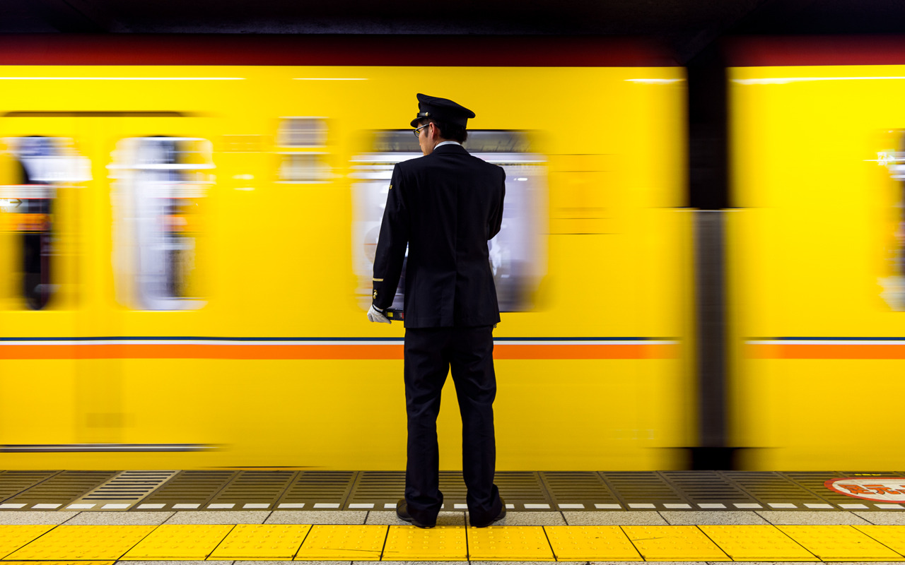 Ginza Line, Ginza (銀座)