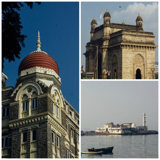 Taj Mahal Hotel Mumbai,  Gateway of India, Haji Ali dargah