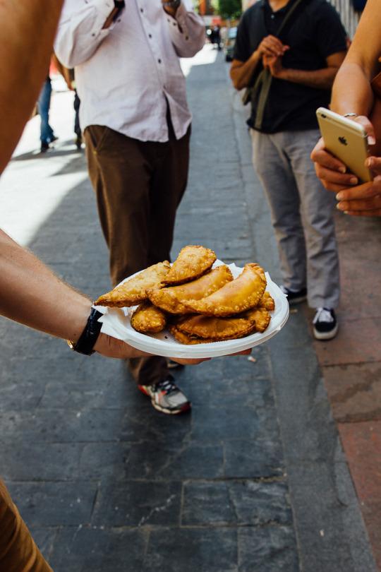 food tour Madrid Spain Empanada