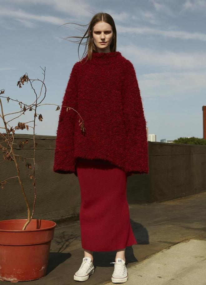 knitGrandeur: Seeing Red