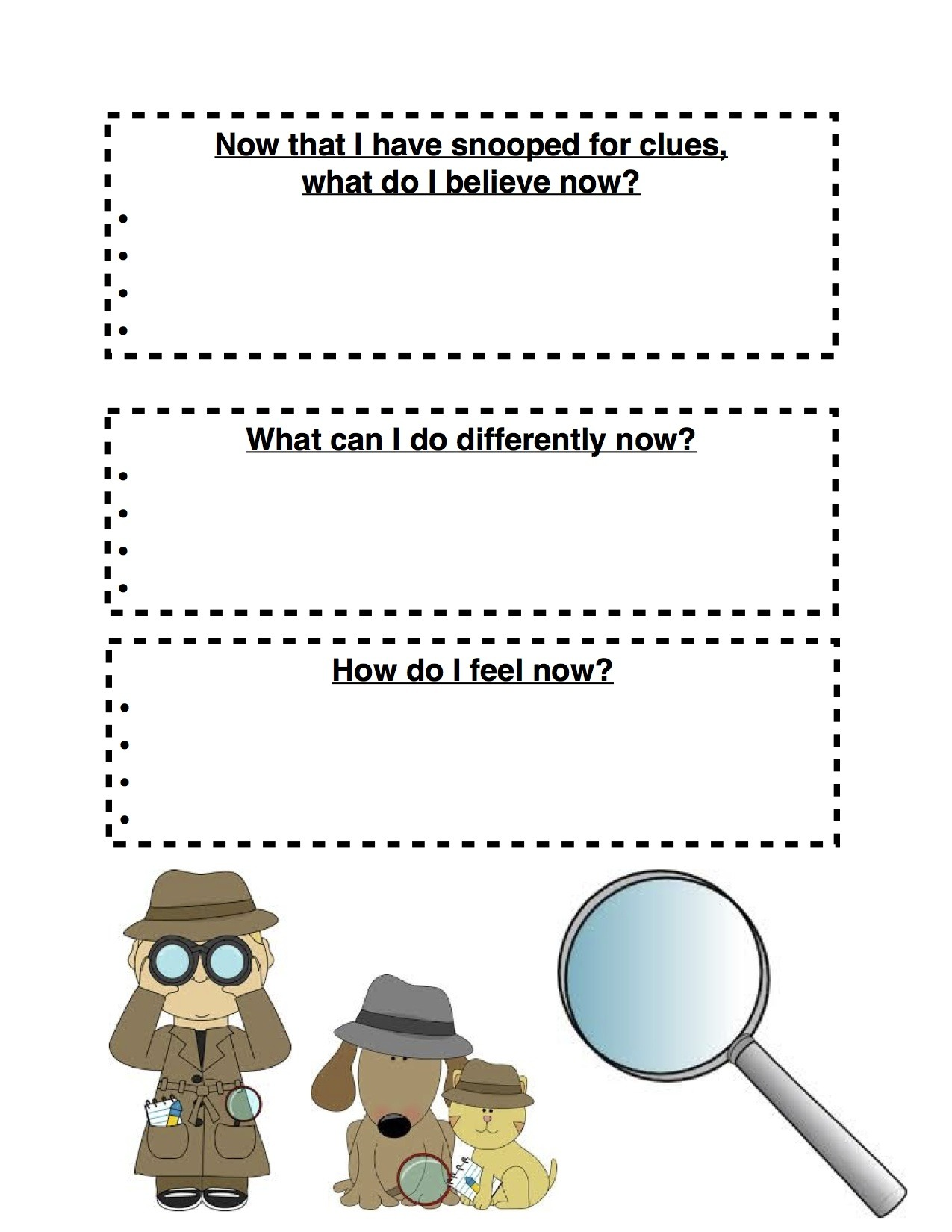Cbt Worksheets I Created This Worksheet Using