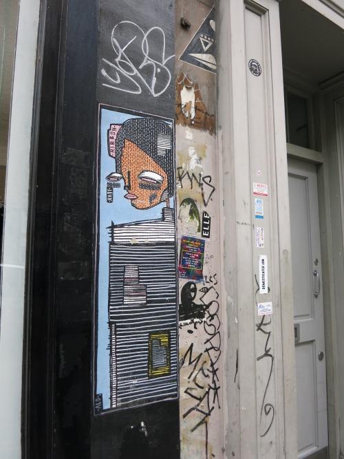 graffitilanes:Shoreditch, London. July 2016.