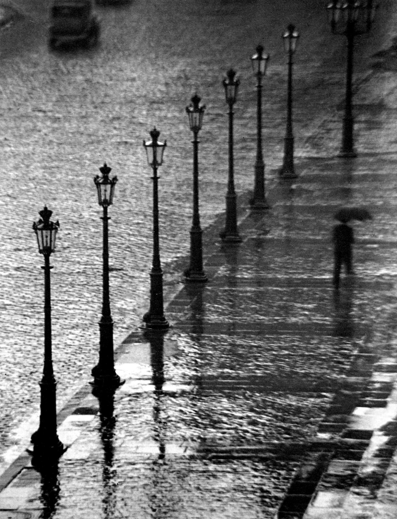 "onlyoldphotography: ""André Kertész: Place Gambetta, Paris, 1929 """