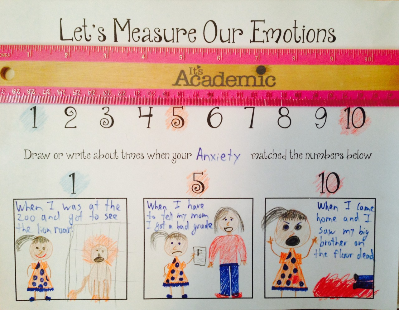 Let S Measure Our Emotions Worksheet This Is A