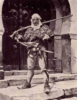 Albanian soldier in the early 1900s via reddit – History