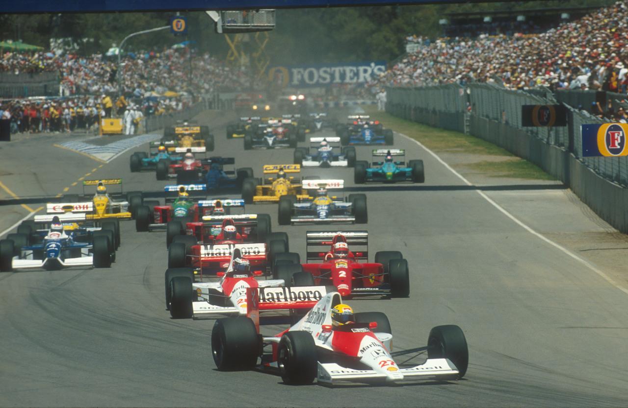 Image result for 1990 australian grand prix
