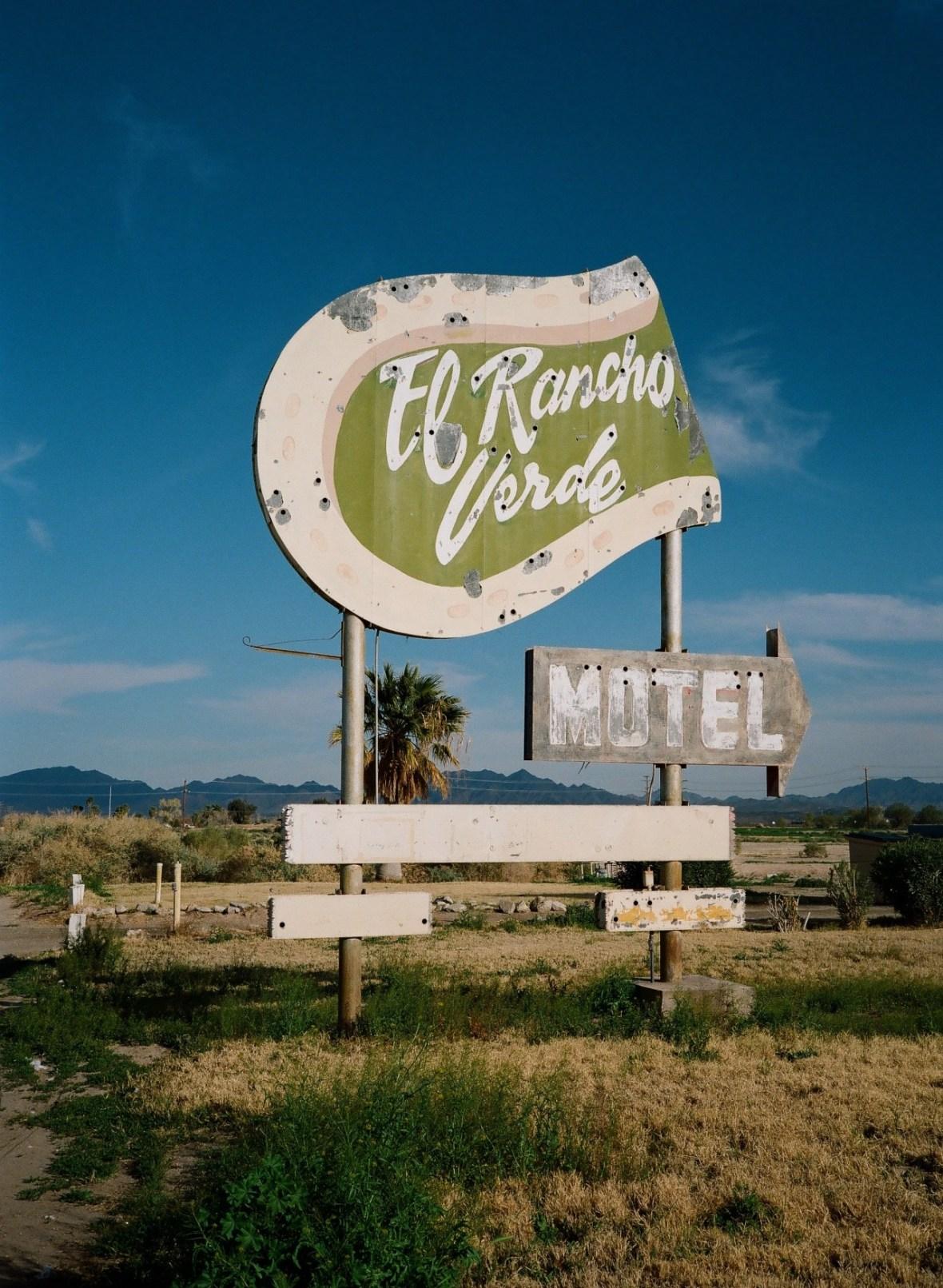El Rancho Verde Motel - Blythe, California U.S.A. - February 26, 2013