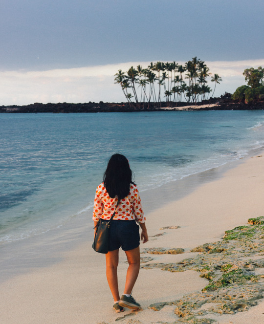 Mahai'ula beach, Three days in Big island