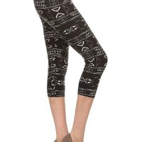 Premium Quality Ultra REGULAR and PLUS SIZE Soft Best Selling Capri Cropped Print Leggings...., July 22, 2017 at 03:32PM