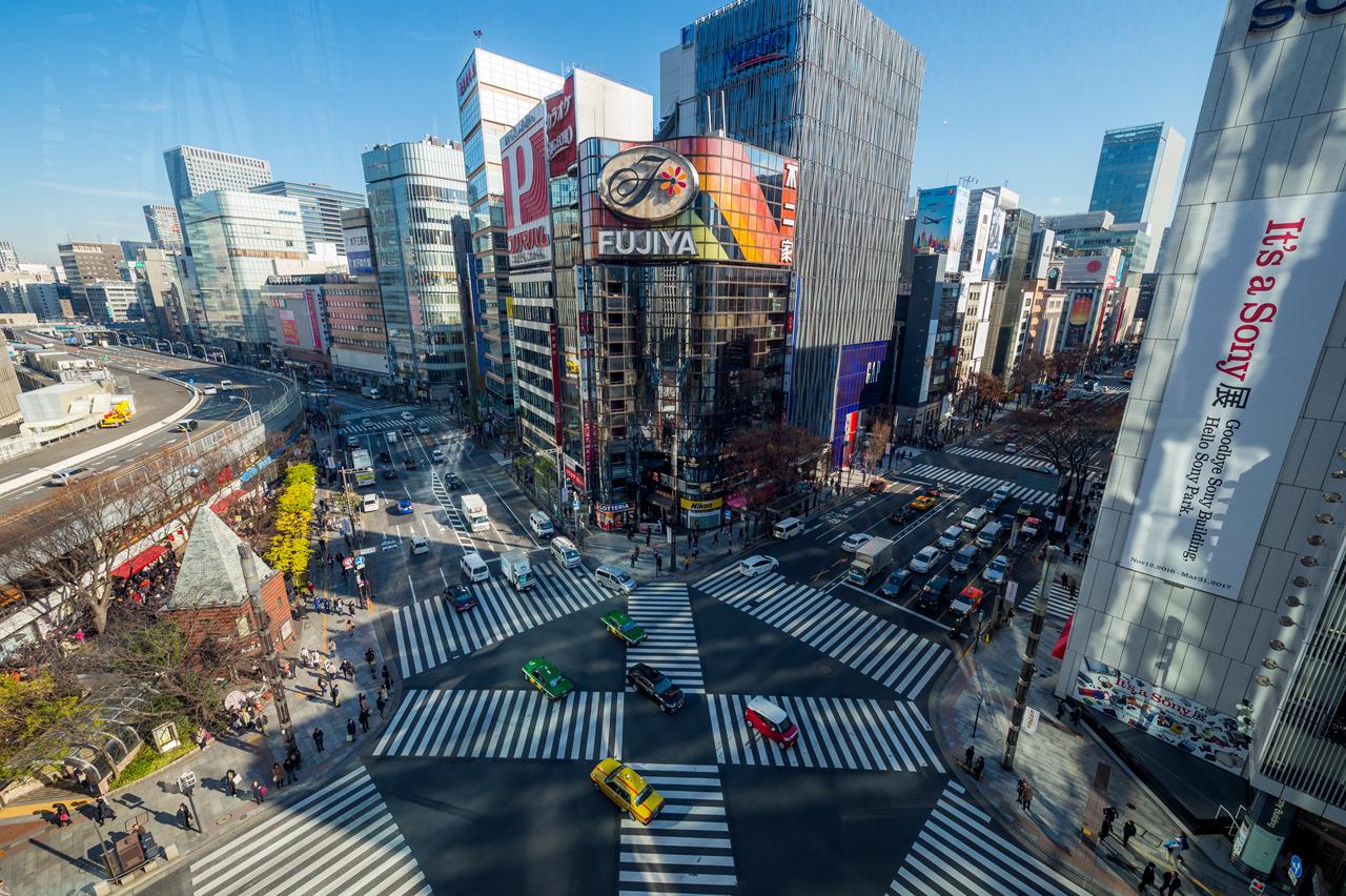 Ginza crossing, Ginza (銀座)