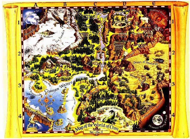 Shannara Terry Brooks World Map