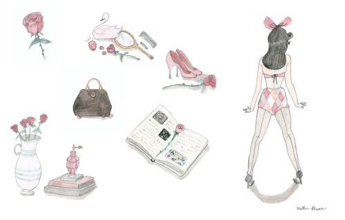 Girly Art On Tumblr