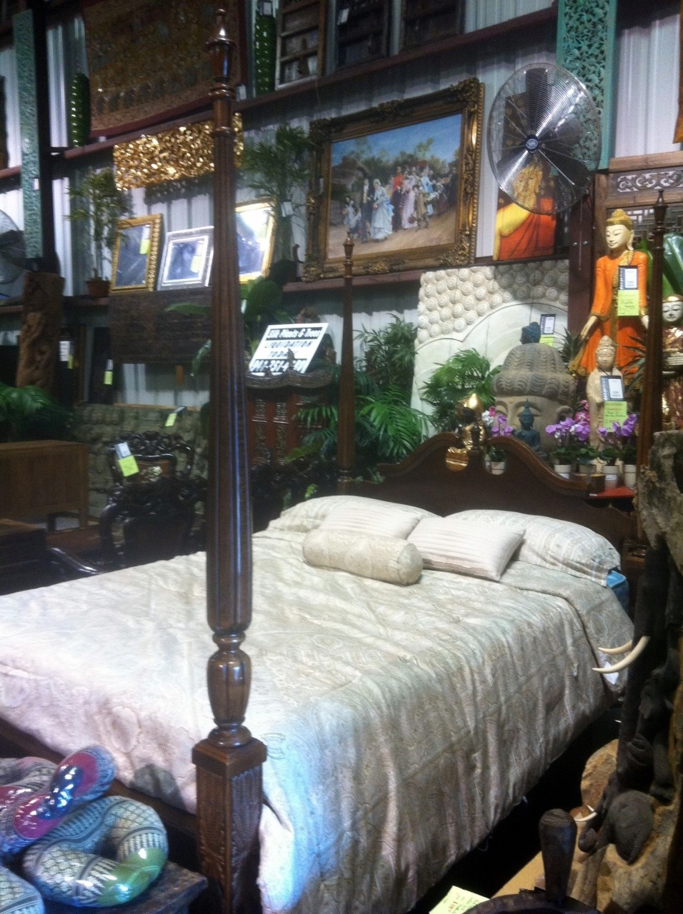 Traditional American 4 Poster Rice Bed This Decor