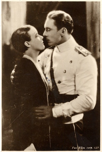 "howardhawkshollywood: "" George O'Brien and Virginia Valli in Paid To Love (1927) """