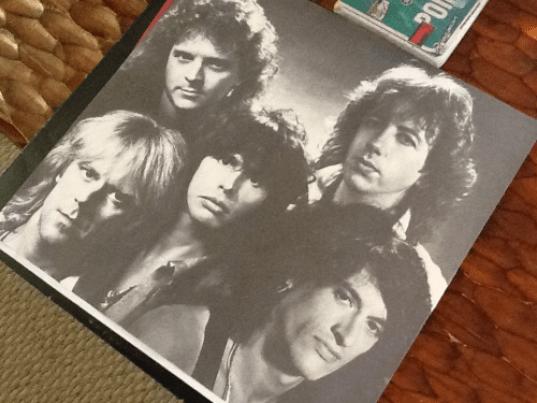 Aerosmith, circa 1985