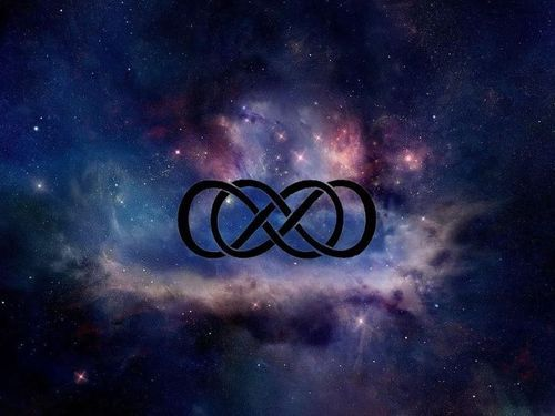 Double Heart Infinity Symbol