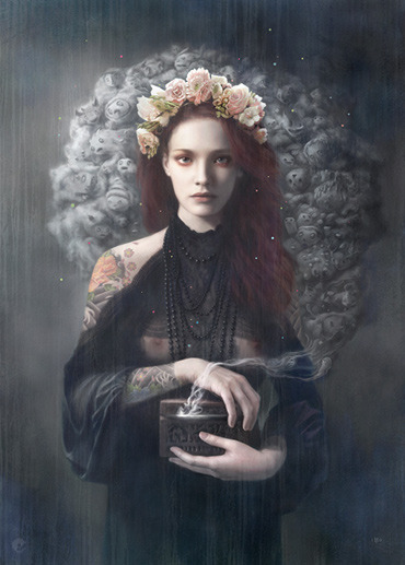 pandora by tom bagshaw cool fact about Tom, I asked him to help me judge the AFA header challenge, and Tom polite and gentle as ever, told me that it was a great idea but he did not felt confortable judging other people art! and he finished with ->...