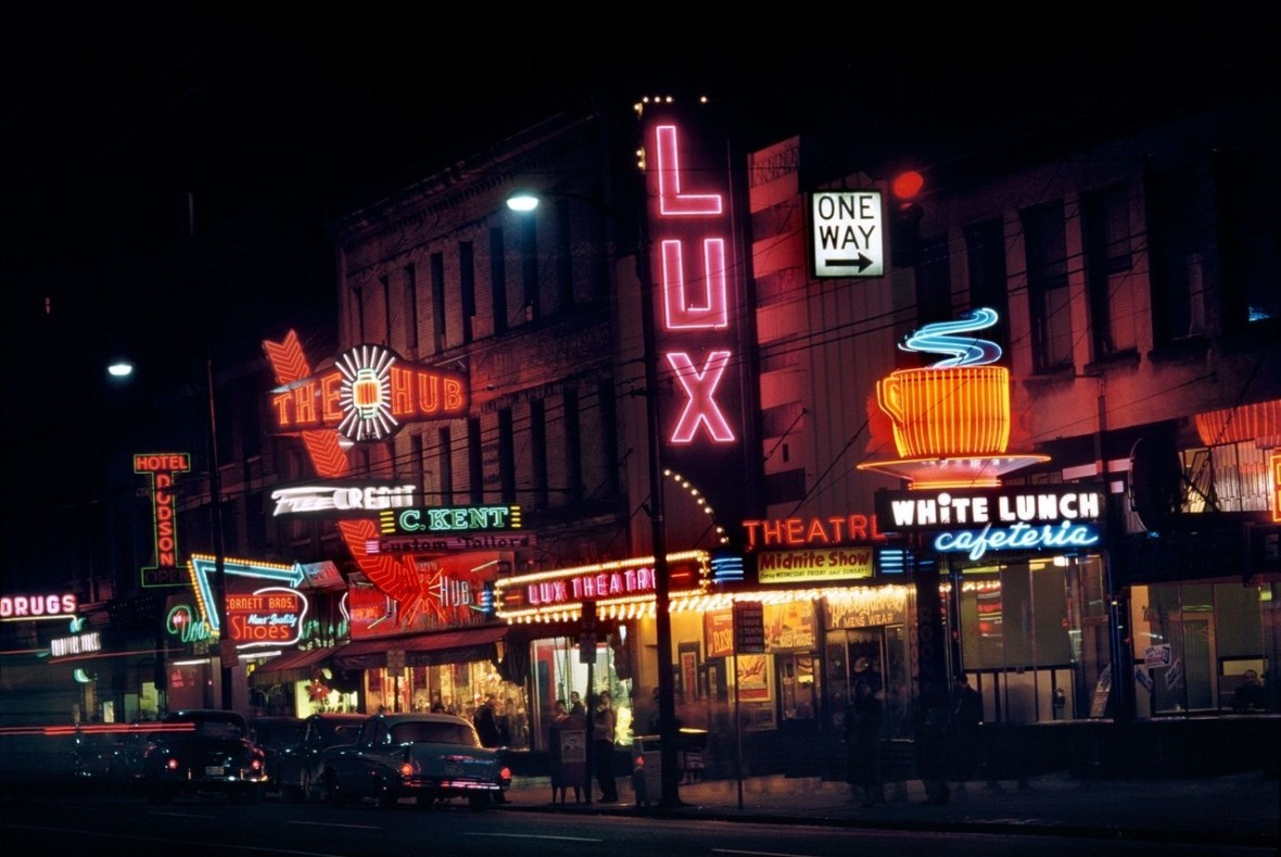 Vancouver, British Columbia, Canada - photo by Fred Herzog - 1958