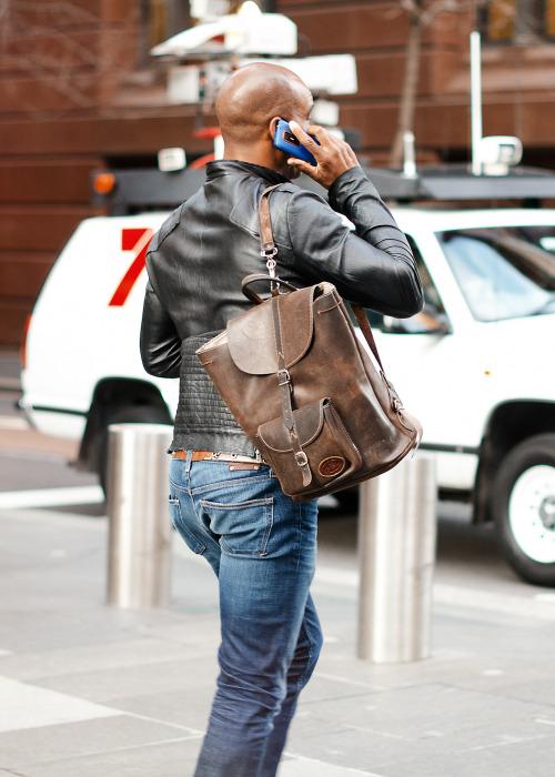 Bag it.Similar look: River Island Backpack.