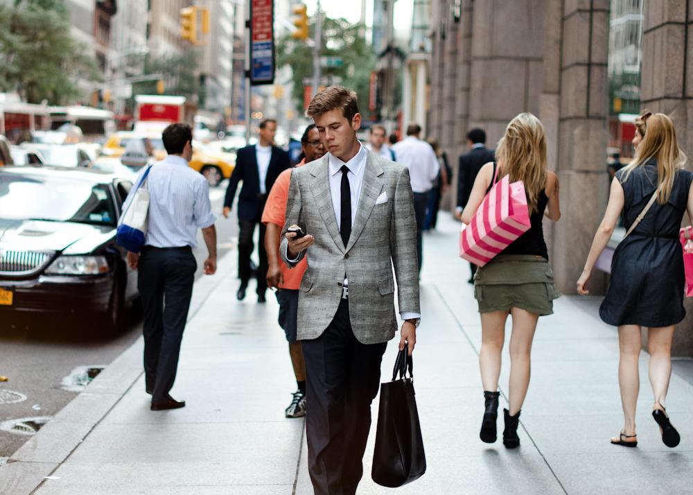 Old soul.Similar look: Paul Smith Abbey Slim-Fit Check Wool Blazer.