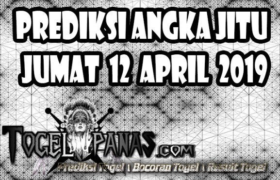 Prediksi Angka Jitu Togel Jumat 12 April 2019