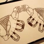 グループ展 散開目 - 三上カミの作品