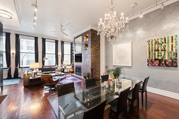 Authentic Floor Through Soho Loft At The Hohner Building 2 Br For Tribeca Apartment S 46 Mercer St In Manhattan Nest Seekers