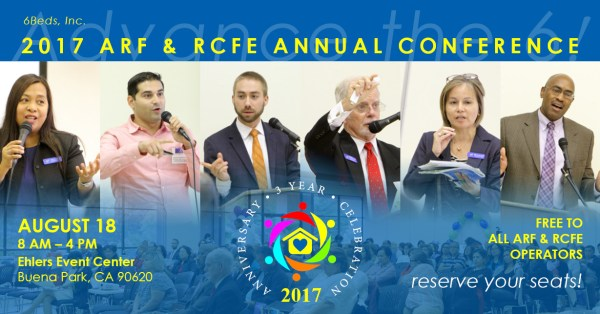 2017 ARF & RCFE Annual Conference