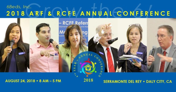 2018 ARF & RCFE ANNUAL CONFERENCE