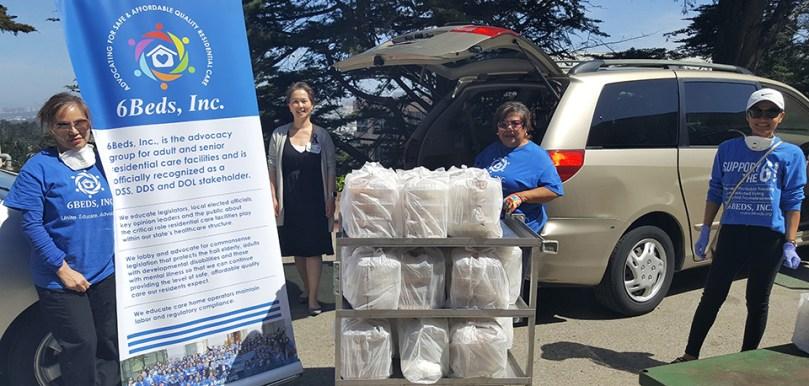 6Beds delivers meal packs to Seton Medical Center for front line staff