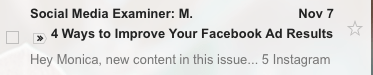 subject line mistakes